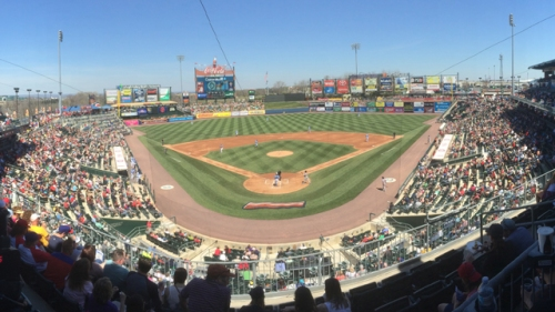 Lehigh Valley IronPigs 5 millionth mark