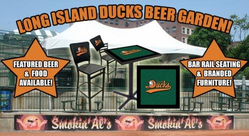 Long Island Ducks Beer Garden