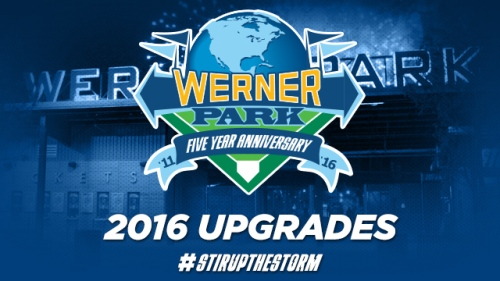 Omaha Storm Chasers Werner Park Enhancements 2016