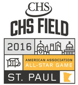 St. Paul Saints All-2016 Star Game Logo