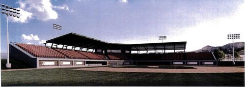 University of Utah Ballpark Rendering