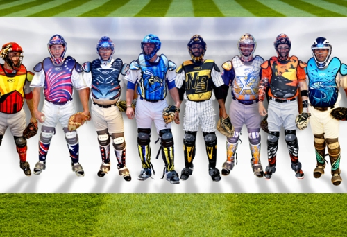 Atlantic League Catcher Equipment 2016