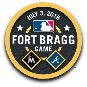 Fort Bragg MLB Game Logo