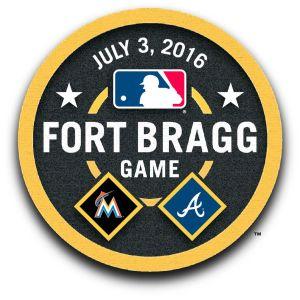 Fort Bragg MLB Game Logo
