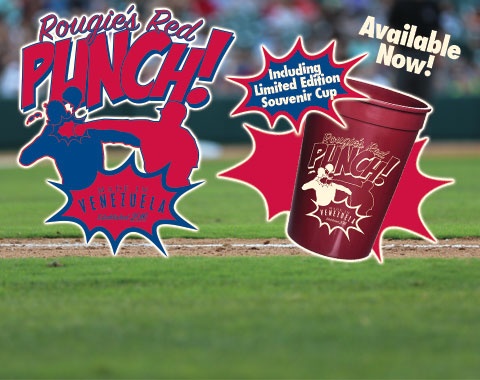 Frisco RoughRiders Rougies Red Punch