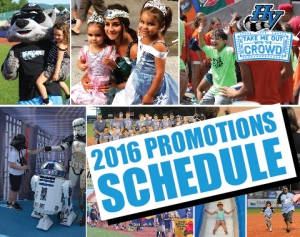 Hudson Valley Renegades  unveil 2016 promo schedule
