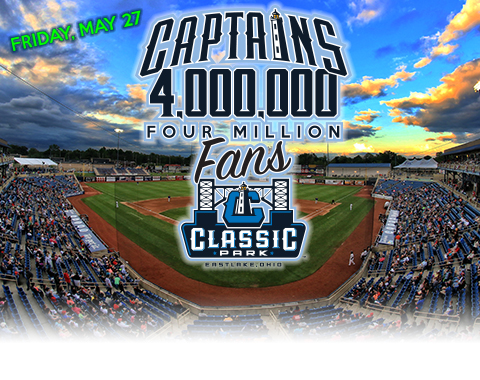 Lake County Captains 4m Fan