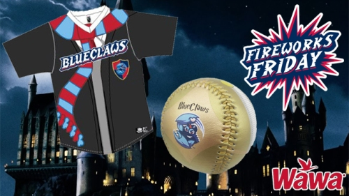 Lakewood BlueClaws Harry Potter Night