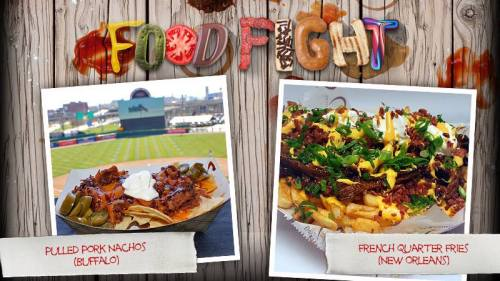 MiLB Food Fight