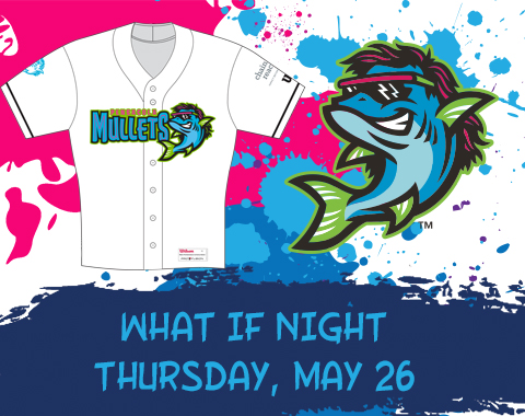 Pensacola Blue Wahoos What If Mullets Night