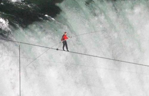 Rockland Boulders Nik Wallenda Niagara