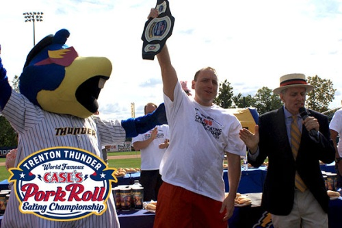 Trenton Thunder Pork Roll Eating Contest II