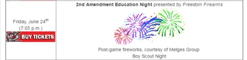 Battle Creek Bombers 2nd Amendment Education Night