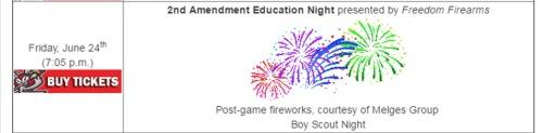 Battle Creek Bombers 2nd Amendment Education Night