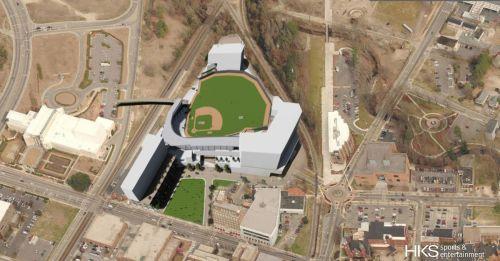 Fayetteville Ballpark Rendering