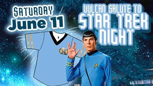 Frisco RoughRiders Star Trek Night