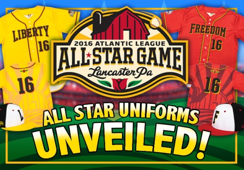 Lancaster Barnstormers 2016 All-Star Game Unis Unveiled