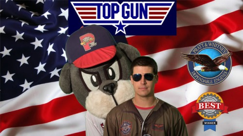 Portland Sea Dogs Top Gun Night