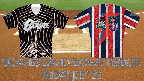 Bowie Baysox David Bowie Tribute