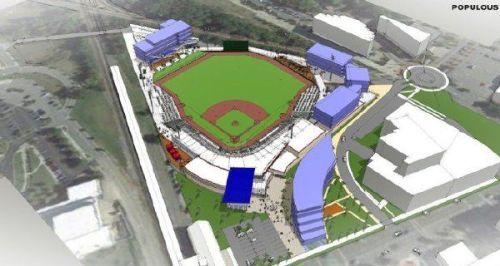 Fayetteville Ballpark Rendering 2