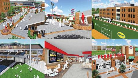 Greenville Drive Ballpark Improvements