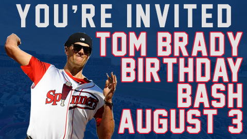 Lowell Spinner Tom Brady Birthday Bash