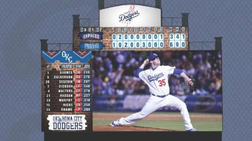 Oklahoma City Dodgers New Video Board