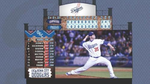 Oklahoma City Dodgers New Video Board