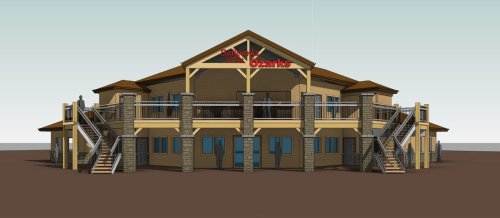 Ballpark of the Ozarks Rendering