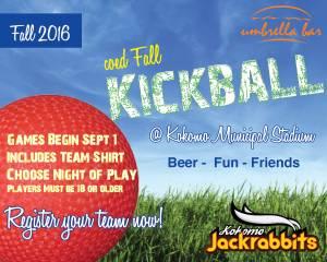 Kokomo Jackrabbits Kickball