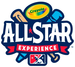 Minor League Baseball Crayola Partnership Logo