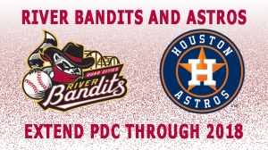Quad Cities River Bandits and Houston Astros Extend PDC 2