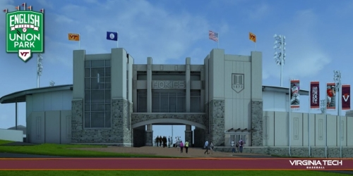 Virginia Teach Baseball Stadium Rendering