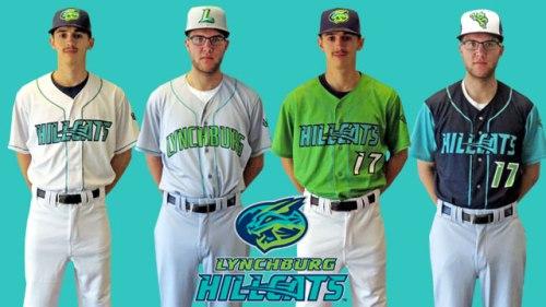 lynchburg-hillcats-new-uniforms