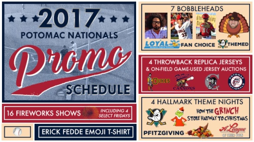 potomac-nationals-2017-promo-schedule