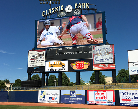lake-county-captains-new-videoboard
