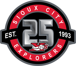 sioux-city-explorers-25th-anniversary-logo