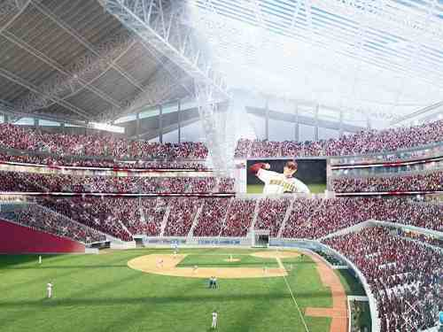 US Bank Baseball Configuration, HKS Sports & Entertainment Group