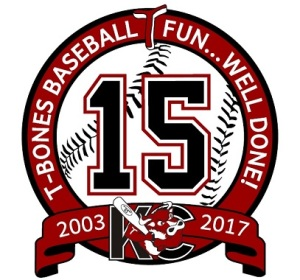 kansas-city-t-bones-15th-anniversary-logo