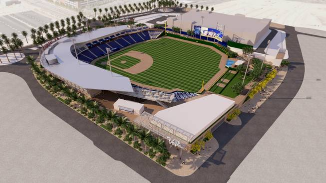 Howard Hughes Corp To Build New Summerlin Ballpark For 51s
