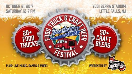 Food truck craft beer festival at yogi berra stadium for Food truck and craft beer festival