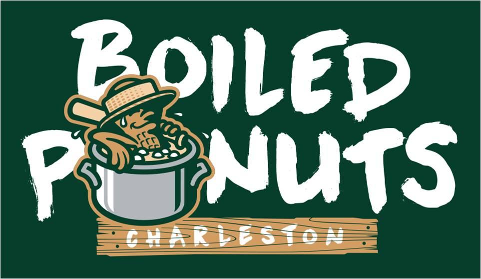 charleston boiled peanuts logo graphic