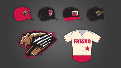 1b674642c Fresno Grizzlies Unveil New Color Scheme, Logos and Uniforms